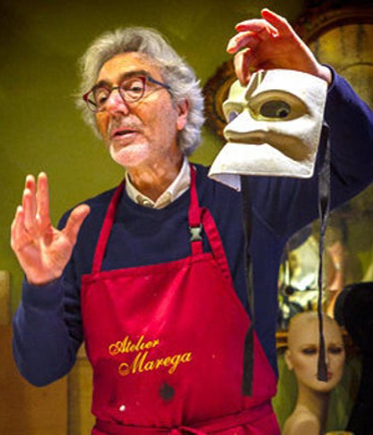 Venezia - Atelier Marega - Il Proprietario Carlo Marega