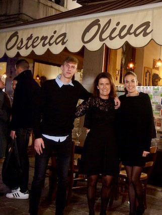 Venezia - Osteria Oliva Nera - Isabella Zambon con i figli Jessica e Filippo