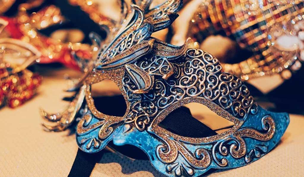 Venezia - Atelier Marega - Dettaglio Maschera Veneziana