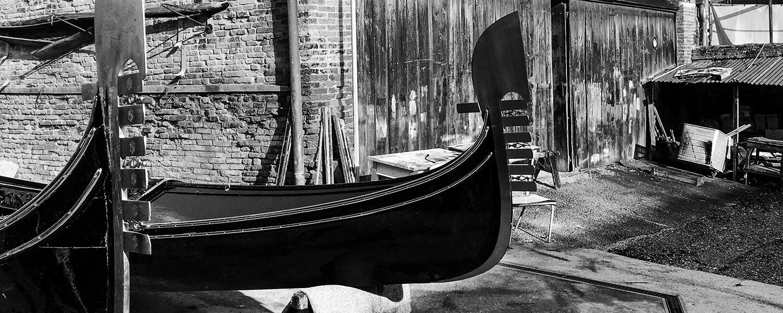 Venezia - Squero Tramontin - Dettagli Gondole