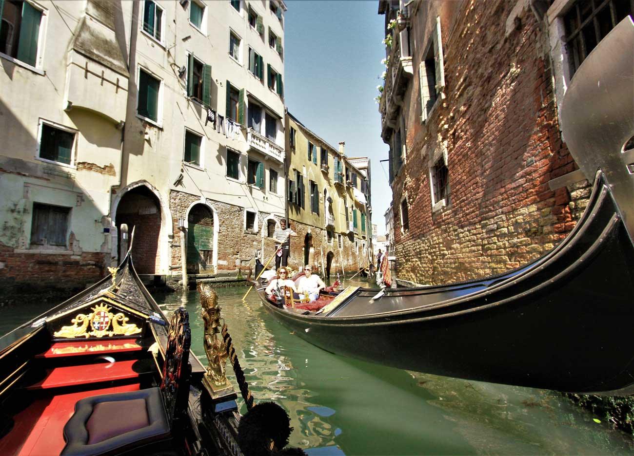 In Italia con Welcome Piemonte - Venezia - Vista dalla Gondola